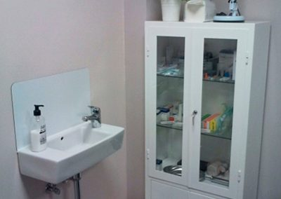 Enfermería - Sala de extracciones